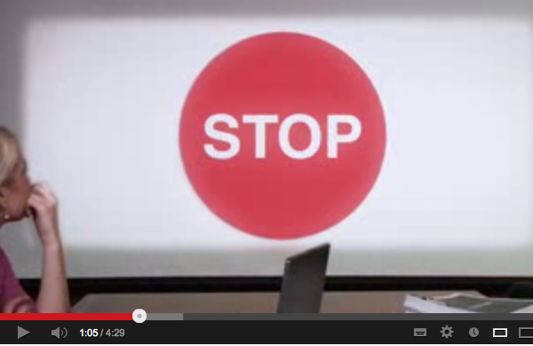 The Process (a.k.a. Designing The Stop Sign Video)