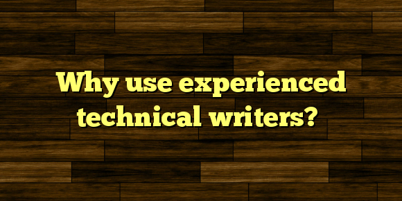 what is technical writing used for Bachelor of science in technical writing and communication the bs in technical writing & communication (twc) is one of the oldest undergraduate technical.