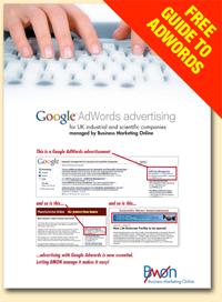 Google AdWords advertising with BMON brochure