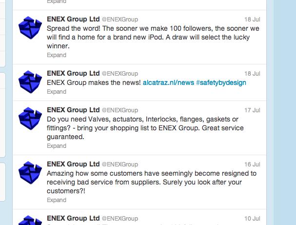 ENEX Group on Twitter