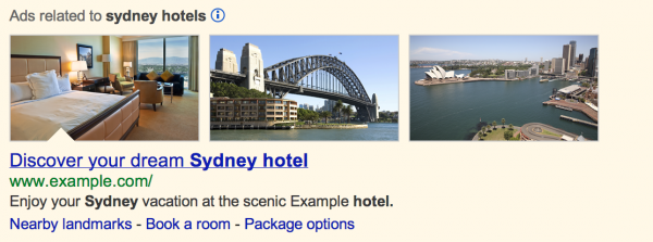 AdWords image extensions in Google