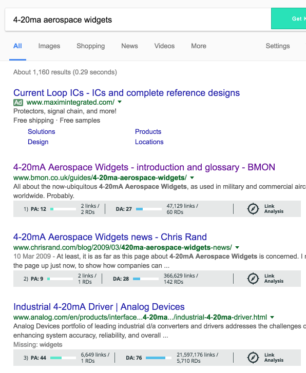 google-search-with-moz-toolbar